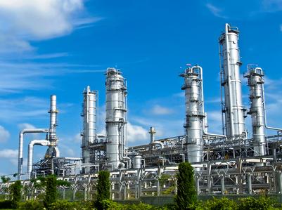 Petrolium plant in Thailand